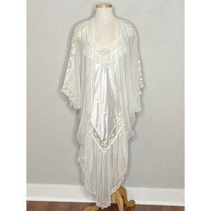 Victoria's Secret VTG Bridal Lingerie Peignoir Set